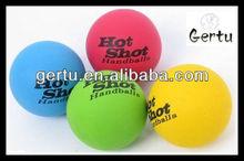 Hot shot rubber hollow bouncing ball
