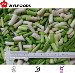 frozen green garlic cut 2-4cm wholesale price