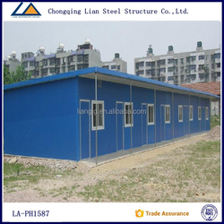 Alibaba China Supplier Light Steel Prefab House for Africa / Asia / South America