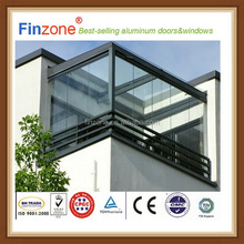 2 years quality guaranteed popular style cheap iso9001 frameless folding window