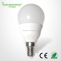 CE RoHS thermal conductive plastic with aluminum bulb 3w e14 led bulb,cool white light led E27 cheap led bulb e14
