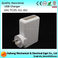 4A 5 port usb adapter,wholesale usb wall charger for iphone