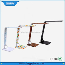 LED metal foldable art desk lamp for reading and working