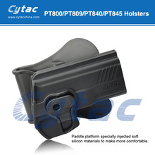 Cytac taurus PT800 polymer holster belt clip pouch leather case cover