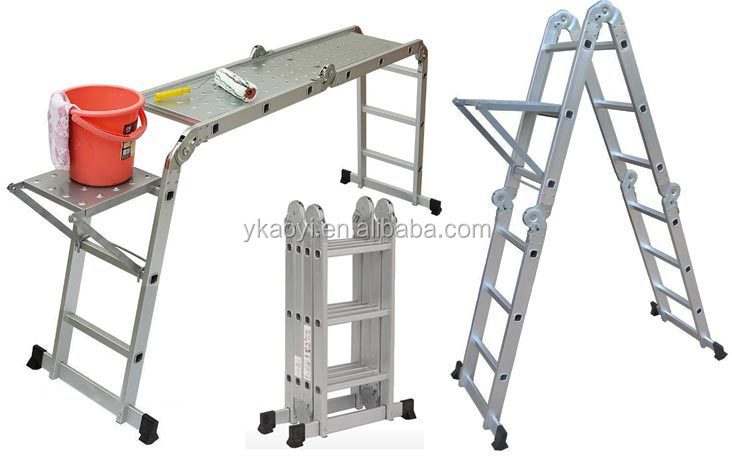Escaleras plegables de aluminio precios materiales para for Escalera aluminio plegable easy