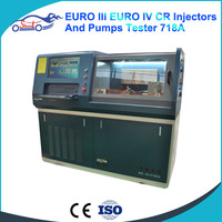718 Common Rail Test Bench Calibration Diesel Tester Support EUI/ EUP/ HEUI/ VP44 Mutil Function CRI Test Bench