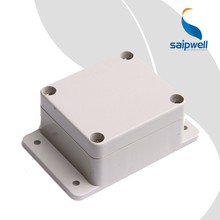 Saip/Saipwell CE Certificated ABS Enclosure Box with Ear Solid China Supplier Waterproof Electronic Project Enclosure