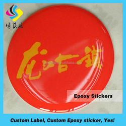 Hot Sale Manufacturing Custom Made Crystal Domed Clear Epoxy Sticker