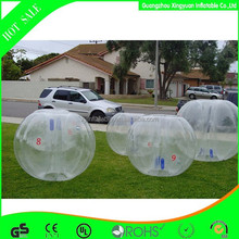 2015 Wholesale inflatable bubble football/soccer for games