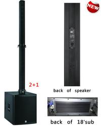 2015 sound indoor line array+speaker box line array system+active column line array