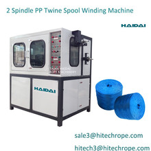 Manufacturer supply 1 ply PP raffia baler Twine making Machine