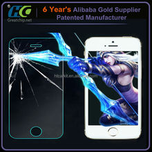 Top selling creative tempered glass screen protector glow screen protector