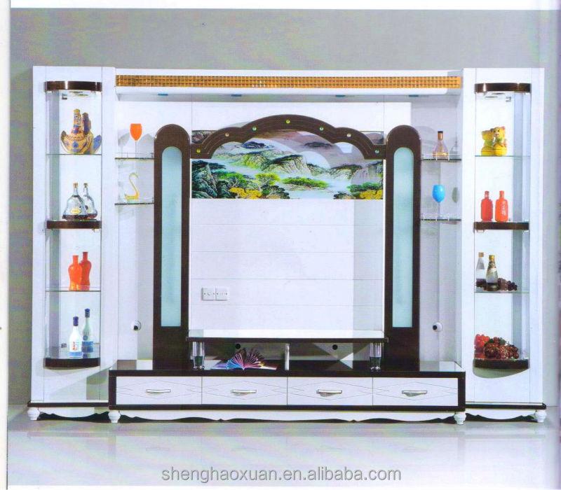 Mobili moderni soggiorno pensili mobili parete vetrina led tv a ...