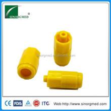 Best Yellow Plastic Sterile Heparin Cap for IV Set
