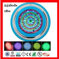 2014 fiberglass pool AC12V 18w 1620lm waterproof led light for swimming pool
