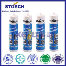 For door and window glass curtain 100% silicone sealant acetic cure