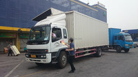Wing Open Box Truck FTR from China