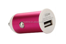 2015 Nice Design Aluminium Alloy 5V 2.1A Portable USB For iPhone 6 Charger