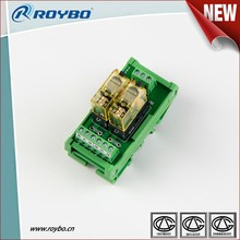 2 digits auxiliary electrical ac voltage controller three phase relay with switching capability