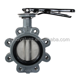 High Quality Lug Type Butterfly Valve without Pin