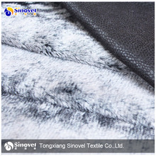 100% polyester PV fleece bonded suede fabric