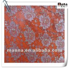 100%Polyester Organza Lace Fabric with Sequence Yarn Textile for Dress Fashion 2012