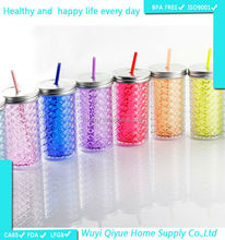 2015 new products in china mason jar shaker innovative products for import juice jar 16oz color changing antique honey jars