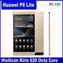 New HUAWEI P8 Lite Smart Phone Hisilicon Kirin 620 1.2GHz Octa Core 5.0 Inch HD Screen Android 5.0 4G LTE Cell Phone