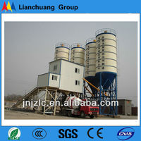 HLS90 dry mix concrete batch plant