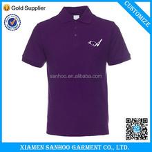 Pomotional Wholesales Customized Logo Custom Dry Fit Polo