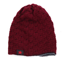 Reversible Beanie Hats Mens Womens Autumn Winter Beanies Hat Snow Ski Knitted Skull Baggy Caps Fashion Soft Warm Lovers Cap