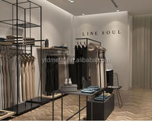2015 Fashion metal women' clothes display rack