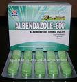 Medicamentos Veterinarios:Albendazol 600 mg en bolo de aves de corral