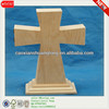 Antique Natural Cheap Unifinished Standing Wooden Crosses