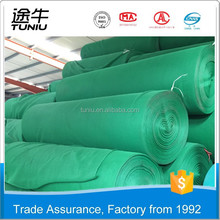 High quality Green Scaffolding Shde Net/HDPE Knitted Construction Safety Net