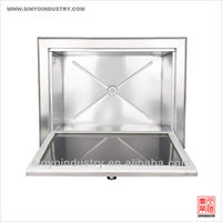 STAINLESS STEEL ICE CHEST