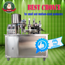 TOP CHOICE!!! semi automatic plastic tube filling and sealing machine 10% 15% discount for cosmetics paste, toothpaste, food