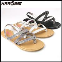 fashion fancy eva sandal for girls , latest design slipper sandal