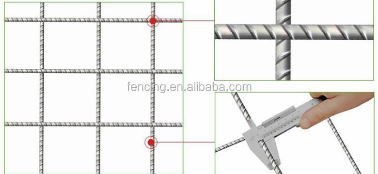Reinforced Steel Concrete Welded Mesh Reinforcement Mats (factory ...