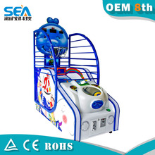 HM-L02-A Haimao 2015 kids deluxe basketball game machine electronic sport equipment from Mexico
