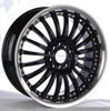 2015new design of car wheel rims, colored alloy wheel for sale 750