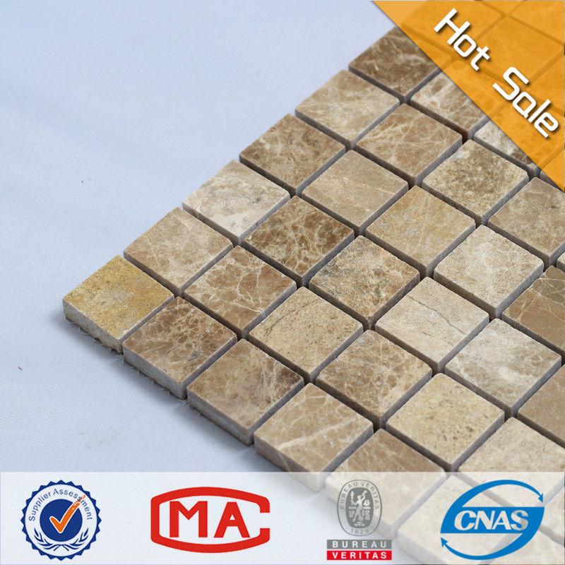 Azulejos Baño Tipo Mosaico: claro cuadrados de mosaico de azulejo de piso de mosaico que cubre