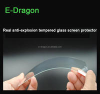 Factory price tampered glass screen protectors film for samsung mobile phone galaxy s4