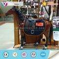 artificial decorativo de fibra de vidrio de caballo
