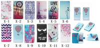 Various Cartoon snack bow Elephant Flower Wallet leather Case cover for Apple iPod Touch 5 5th generation