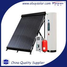 Pressurized Solar Water Heater with Split Heat Pipe