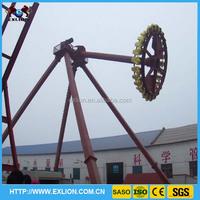 Christmas attraction frisbee amusement big swing pendulum for sale