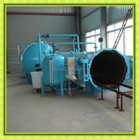 High efficiency single door wood sterilization equipments / wood heat treatment machinery manufacturer