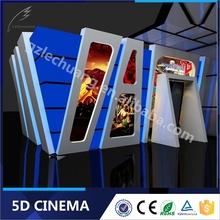 Indoor Equipment Amusement Park 5D Cinema Simulator Supplier