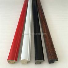 çin tedarikçisi küçük renkli plastik resim çerçevesi profilleri